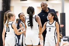 Touching photos show Kobe Bryant coaching his daughter Gianna's basketball team Saturday at the Mamba Sports Academy — a day before the two died on their way to the facility for day two of th… Kobe Bryant And Wife, Kobe Bryant Family, Kobe Bryant Nba, Basketball Boyfriend, Dear Basketball, Basketball Videos, Basketball Birthday, Basketball Quotes, Basketball Court