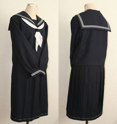 Japanese Japan School Girl Uniform Cosplay Costume NEW British School Uniform, Japan School Uniform, School Uniform Girls, Japanese Uniform, Boys Uniforms, School Uniforms, Military Uniforms, Sailor Outfits, Anime Outfits