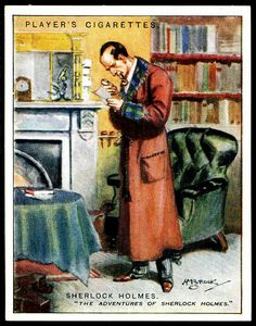 Cigarette Card - Sherlock Holmes by cigcardpix, via Flickr