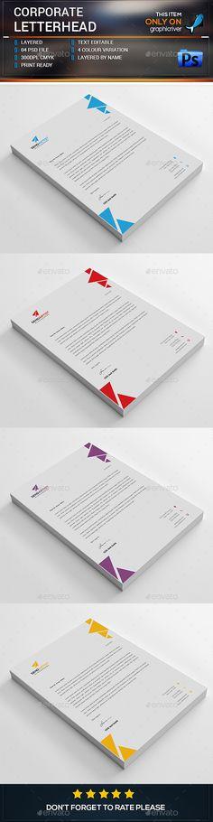 Corporate Letterhead                                                       …                                                                                                                                                                                 Más