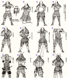 How to armor yourself in the event of a sudden attack: A guide for samurai beginners and pros Samurai Armor Diy, Samurai Weapons, Samurai Warrior, Japanese Song, Japanese History, Samourai Tattoo, Samurai Artwork, Martial, Armor Concept