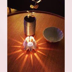 Blossom tealight candle holder - White www.beandliv.com #beandliv #design #candle Photo by @millashverdag