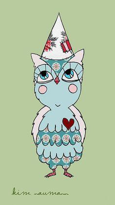 owl by Kim Naumann