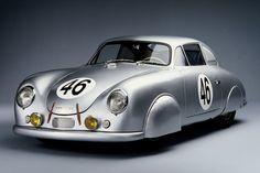 1951 Porsche 356 #Porsche #car #racecar #sportscar #Porschemotorsport #speed #classiccar #vintagecar #motorsport #autosport
