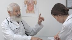 Mature Doctor Giving Instructions To Graduate Medical Student. #Care, #Clinic, #Doctor, #FancyStudio, #Health, #Hospital, #Male, #Medical, #Medicare, #Medicine, #Nurse, #People, #Profession, #Professional, #Uniform, #Young https://goo.gl/TdOvvu