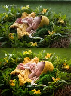 Before and After | Melbourne Newborn and Baby Photography — Kath V - Melbourne Newborn & Baby Photography