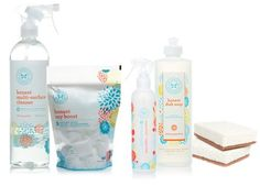 The Honest Company, Baby products by Jessica Alba Natural Cleaning Recipes, Natural Cleaning Products, Honest Co, Natural Cleaners, Green Cleaning, Cleanser, Packaging, Buy Buy, Jessica Alba