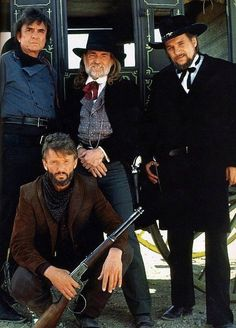 The Highwaymen - Johnny Cash, Waylon Jennings, Willie Nelson and Kris…