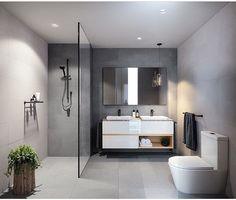 Modern bathrooms ideas modern bathrooms also modern bathroom remodel pictures also modern master bathroom designs also contemporary shower baths white Bathroom Renos, Laundry In Bathroom, Bathroom Layout, Small Bathroom, Bathroom Ideas, Bathroom Grey, Bathroom Inspo, Restroom Ideas, Bathroom Goals