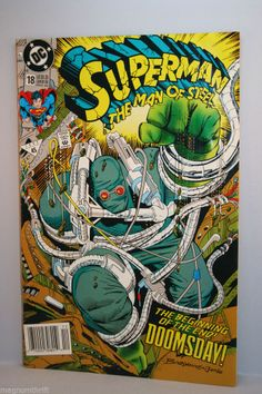 Superman The Man of Steel - The Beginning of The End! Doomsday! 1992 #ebay @MagnumVintage&Thrift