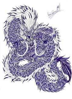 spirit dragon tattoo 1 by TheLaughingChimera.deviantart.com on @DeviantArt