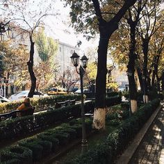 Yerevan, Abovyan street. A perfect place to relax.