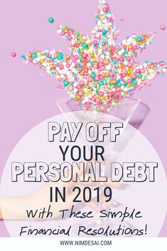 Pay off your debt fast! Check out these amazing Financial New Year's Resolutions ideas designed to help you take control of your finances and become debt free in