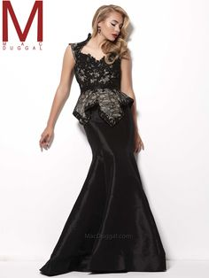 Mac Duggal Pageant Dress 62096R|PageantDesigns.com