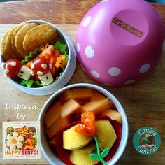 Loving Lunches: Happy Bento Book Tour Mario Bros mushroom lunch