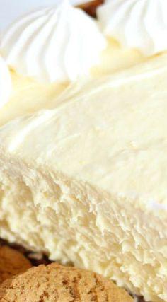 No Bake Eggnog Cheesecake with Gingersnap Crust