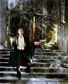 Bela Lugosi ~~ (Dracula) ~~1931 ~~ colourised by Maria-Musikka.deviantart.com on @DeviantArt