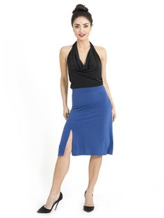 Jersey Tango skirt | The London Tango Boutique