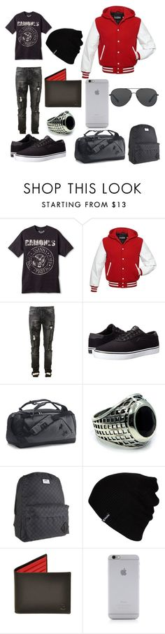 """Ramones/Athletic-ish"" by bands2018 ❤ liked on Polyvore featuring Off-White, Lakai, Under Armour, Han Cholo, Vans, Hurley, Native Union, Michael Kors, men's fashion and menswear"