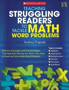 Math word problems can be challenging for many students. Struggling readers have it that much harder. The lessons and activities in this book show how strategies such as visualizing, predicting, refle