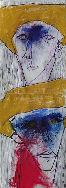 Takahiro Shimatsu (1975) is een Japans kunstenaar, Shimatsu transformeert gevoelens in schokkend beeldende en kleurige tekeningen.