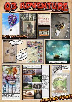 Ideas for WJEC 2015 Exam Q3. Adventure
