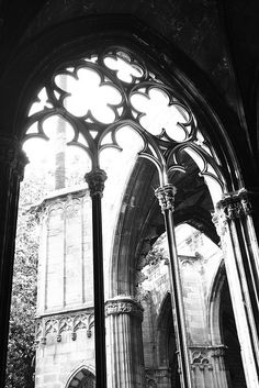 Gothic cathedral - Barcelona by Lowry Lou, via Flickr