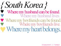 South Korea: where my heart belongs ~ <3