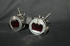 Blood Dragon Spiked Goggles by Sector9Industrial on Etsy, $22.00