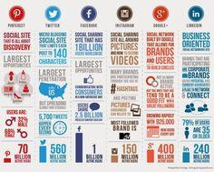 Giusi Castagnetta 3.0: Infografica sulle piattaforme Social media