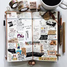 | a look back • week 42 | Calendar journal