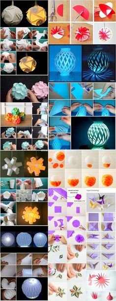 Amazing DIY Paper Craft Ideas: Crafting with hands or paint colors is common thing. But have to ever think about crafting your ideas with the use of paper. Diy Flowers, Paper Flowers, Xmas Crafts, Crafts For Kids, Diy Paper, Paper Crafts, Origami, Paper Butterflies, Paper Ornaments