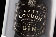East London Liquor Company - Stranger & Stranger #Artisan #Monogram #Batch