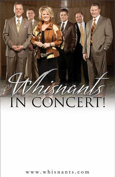 I LOVE southern gospel music!! And The Whisnants, they are the best of the best! :)
