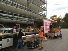 STREUPLAN BLOCK PARTY, 29.8.2014 @ Parkhaus Hauptbahnhof, Sihlquai, Zürich