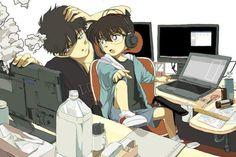 Conan/Shinichi & Kaito KID <3