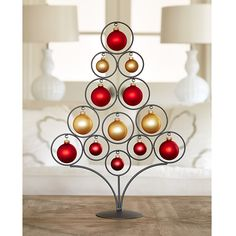 Circle Tree Ornament Stand