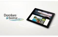 Création d'une identité touristique et d'un site web de destination pour Dombes Val de Saône