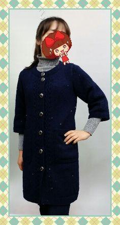 칠부소매 코트