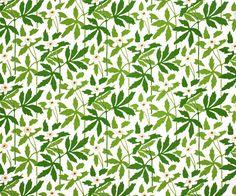 Textile Wood anemones, 1975 Ljungberg's Textile, SUSAN GRÖNDAL  1901 - 1995