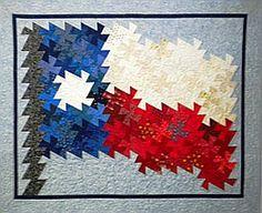 Texas Flag Pinwheel Twist -