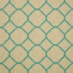 Sunbrella Accord Jade Upholstery Woven Presenting a Sunbrella Accord Upholstery Woven. An intricate plain woven fabric featuring a small-scale quatrefoil pattern throughout. Opaque and medium-weight, it is woven from solution-dyed acry Outdoor Upholstery Fabric, Sunbrella Fabric, Outdoor Cushions, Drapery Fabric, Upholstery Fabrics, Contemporary Outdoor Fabric, Sunbrella Replacement Cushions, Outdoor Hanging Bed, Indoor Outdoor