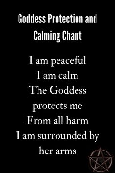 Moon Quotes Discover Goddess Protection Chant A chant to the Goddess for protection and calming. Witchcraft Spell Books, Wiccan Spell Book, Wiccan Witch, Witch Spell, Witchcraft Symbols, Witchcraft Spells For Beginners, Healing Spells, Magick Spells, Wiccan Protection Spells
