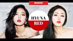 wengie.com - beauty, fashion, lifestyle, diet, ulzzang, korean and asian inspired makeup tutorials: Hyuna RED MV Makeup Tutorial | KPOP Makeup