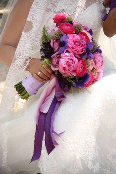 Wedding bouquet of peonies! I love it