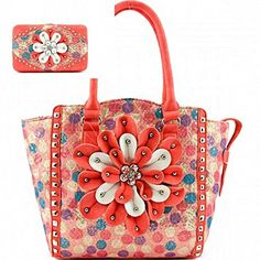 Coral Trim Multi Polka Dot Print Flower Tote Bag W Matchi... https://www.amazon.com/dp/B01FKY37BY/ref=cm_sw_r_pi_dp_U_x_ti-UAbW3C822V