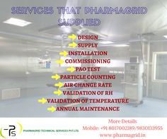 Looking for complete solution to set up pharma facilities & Health Care sector, then find different services that we provides Get details: www.pharmagrid.in Contact: +91 8017002189
