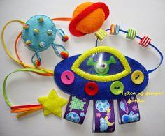 * * Wonders of felt: felt Alien Baby Toy