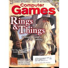 Cover Print of Computer Games Magazine, January 2003 | $6.60