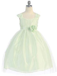 Pink Soft Tulle Flower Girl Dress - Toddler & Girls (2-12)